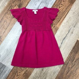 Old Navy sweater dress marked 6/7 fits 4t
